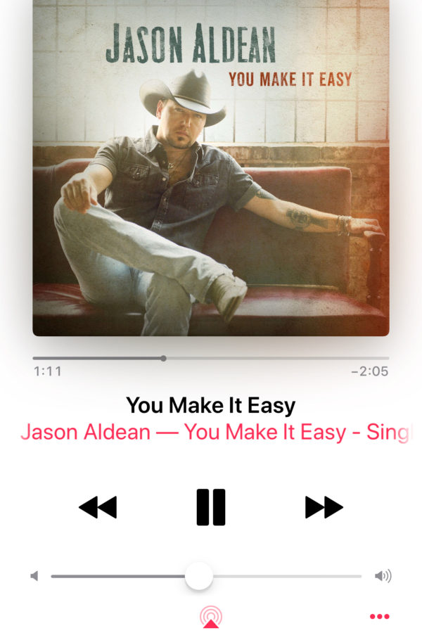 jason aldean you make it easy