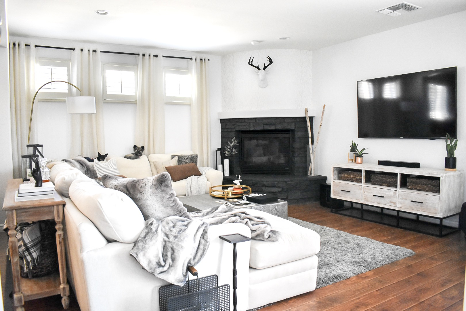 Ashley Nicole Interiors Living Room
